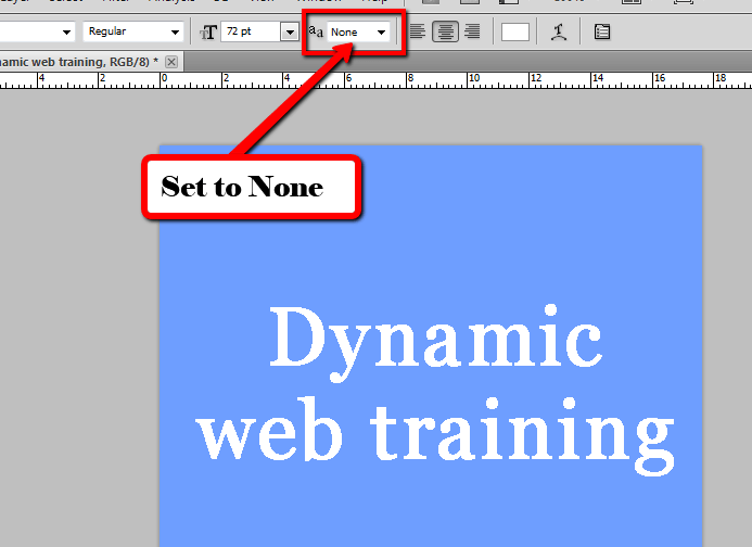 4 Reasons Why the Photoshop Fonts look Pixelated