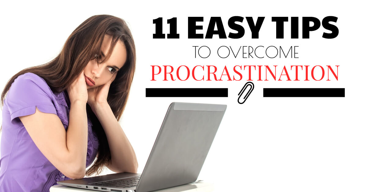 11 Easy Tips to Overcome Procrastination - Dynamic Web Training