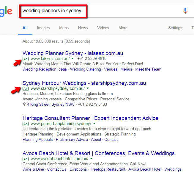 Domain name search - Dynamic Web Training