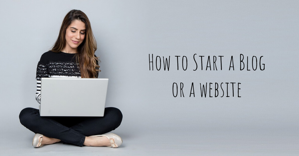 How to start a Blog or a Website - Dynamic Web Training