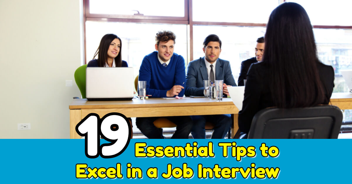 19 Essential Tips to Excel in a Job Interview - Dynamic Web Training