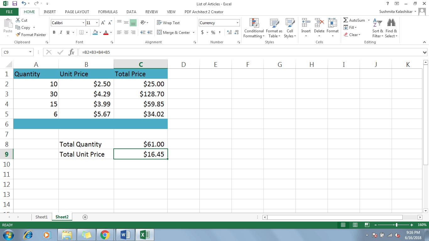 1 Modify A Formula In Excel - Dynamic Web Training