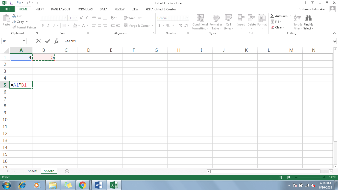1 Refer A Cell In Excel - Dynamic Web Training
