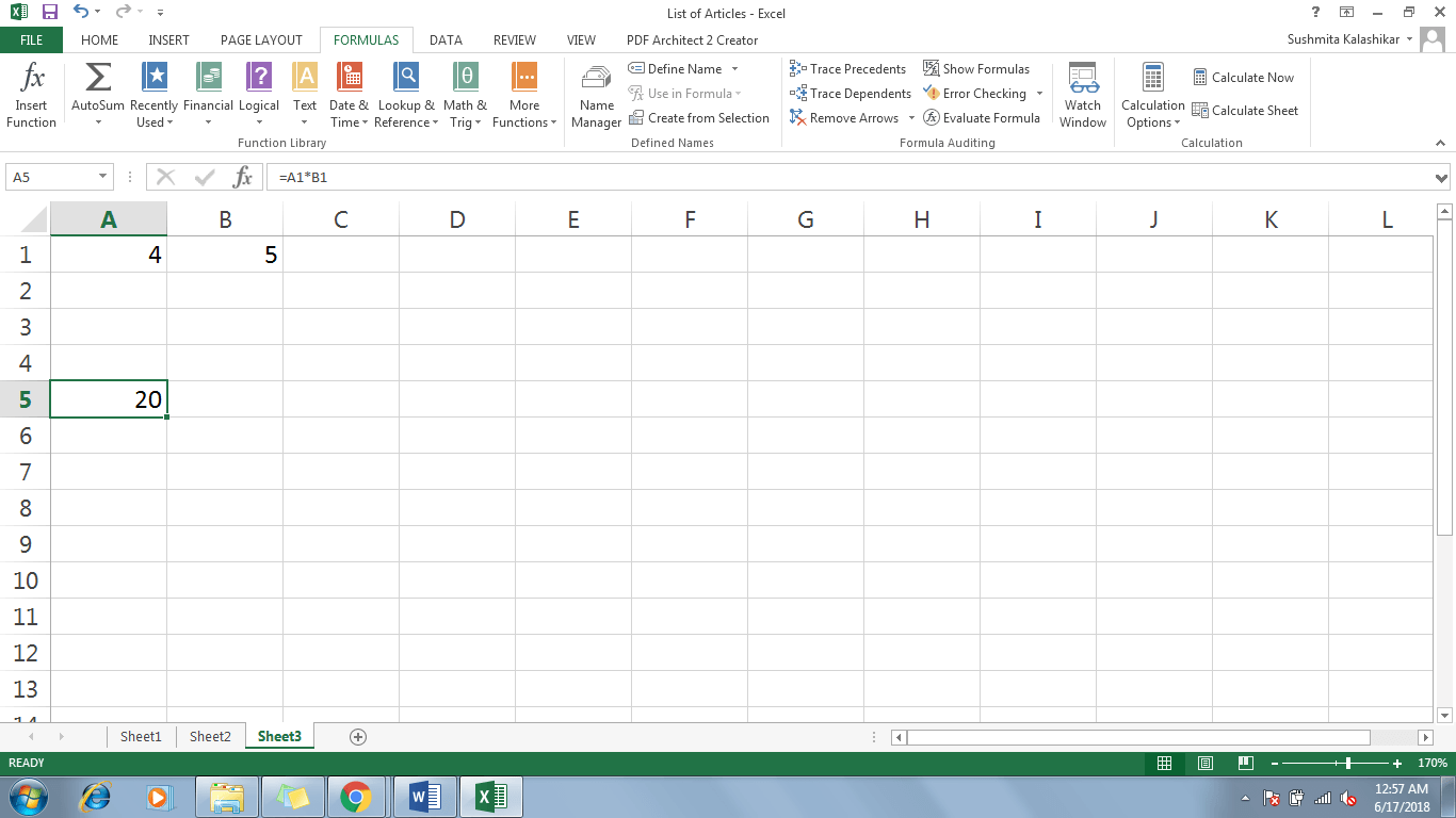 2 Refer A Cell In Excel - Dynamic Web Training
