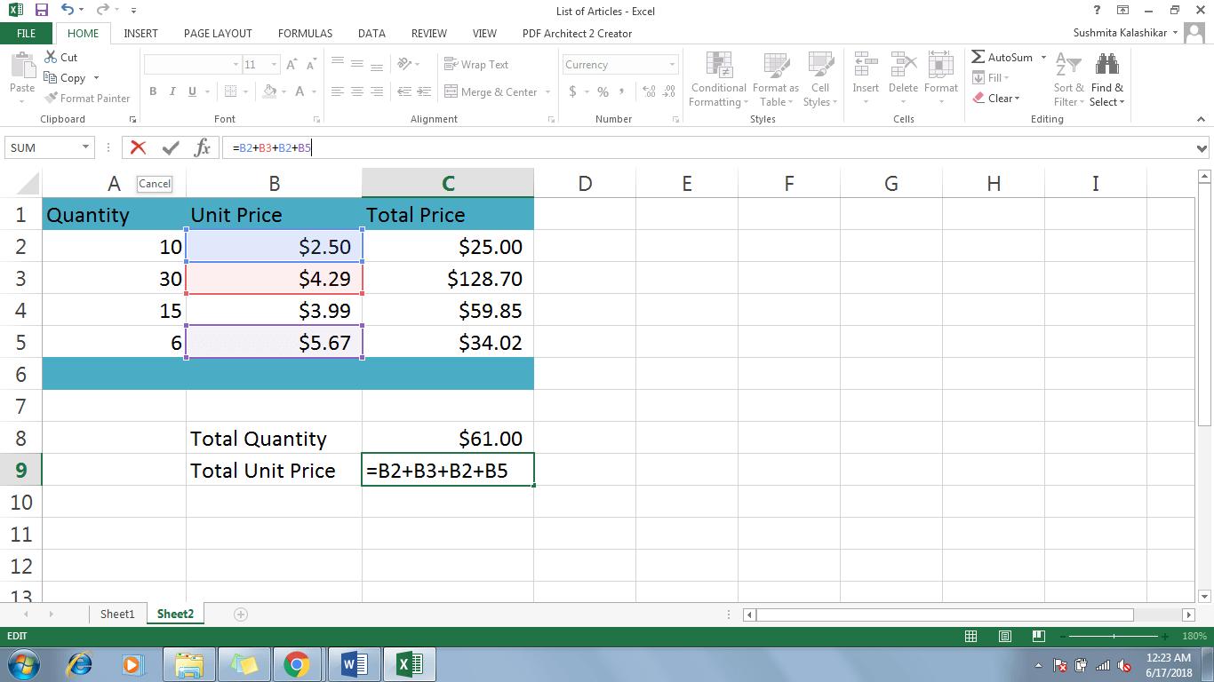 3 Modify A Formula In Excel - Dynamic Web Training