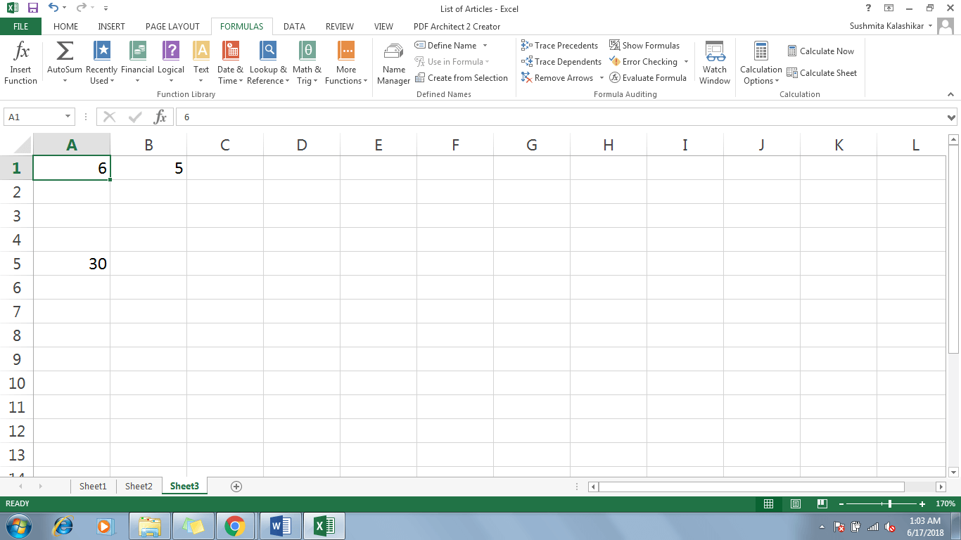 3 Refer A Cell In Excel - Dynamic Web Training