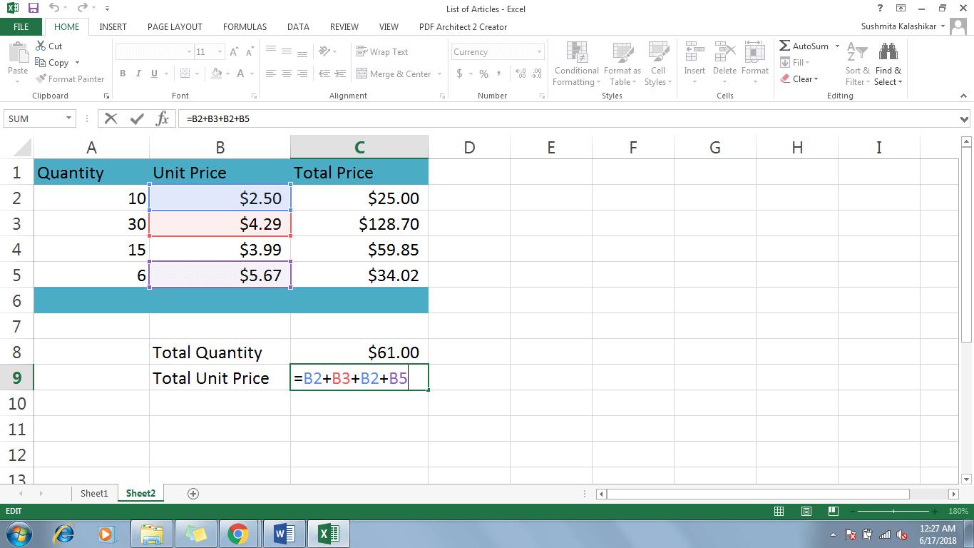 4 Modify A Formula In Excel - Dynamic Web Training