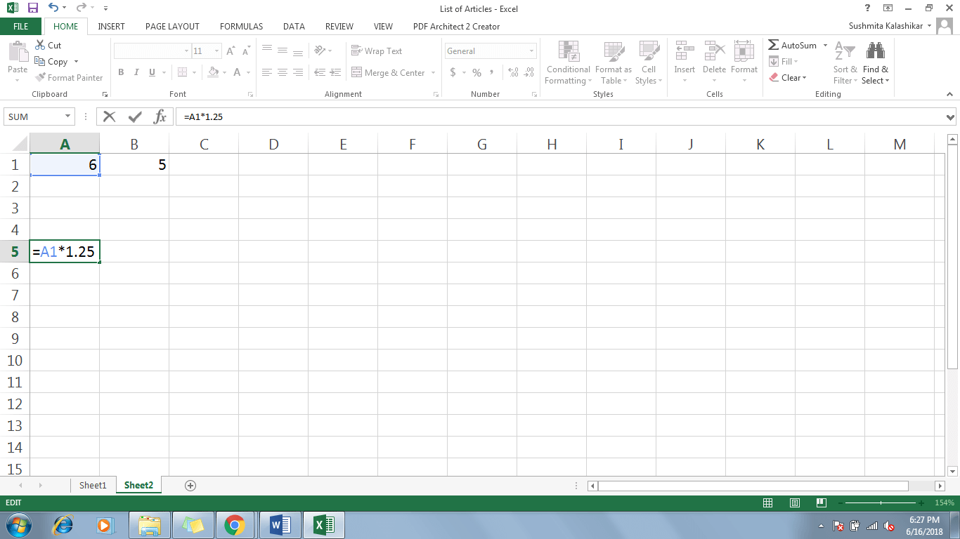 4 Refer A Cell In Excel - Dynamic Web Training