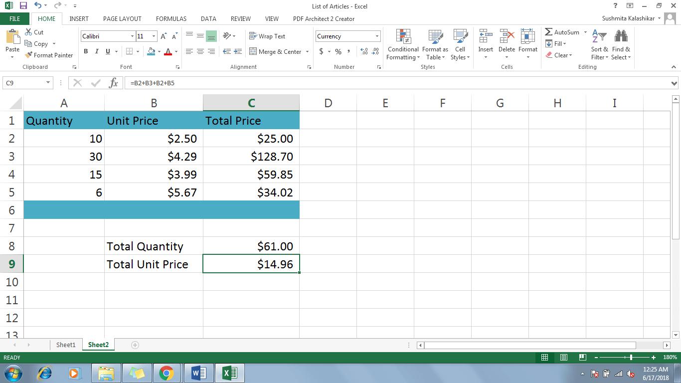 5 Modify A Formula In Excel - Dynamic Web Training