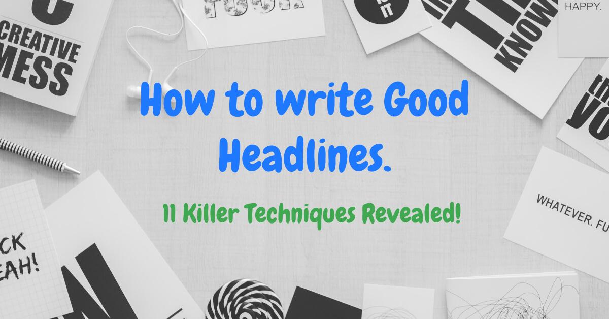 How to write Good Headlines - Dynamic Web Training