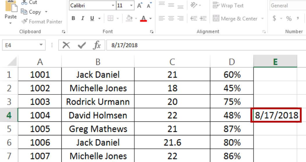 Fig-06 - Insert Date - Dynamic Web Training