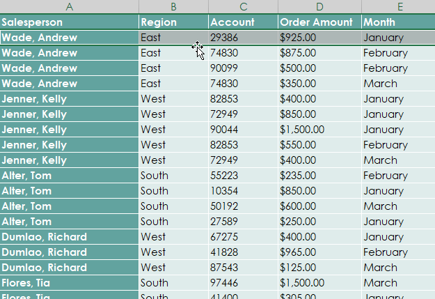 What is a Pivot Table 1 - Dynamic Web Training