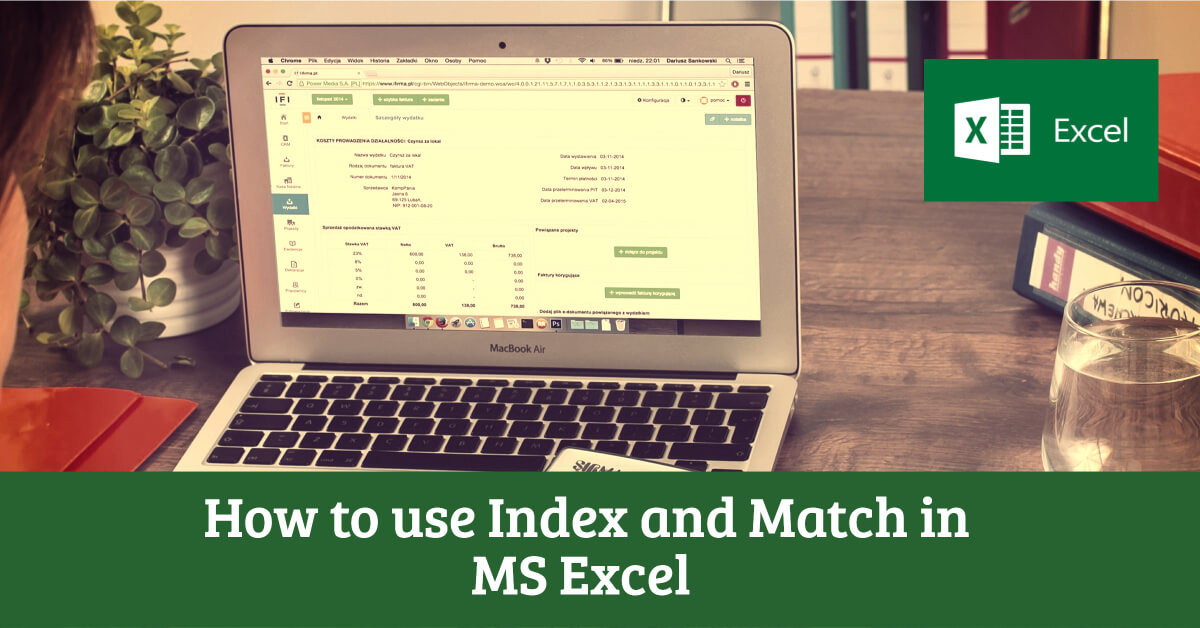 Index Match in Excel - Dynamic Web Training