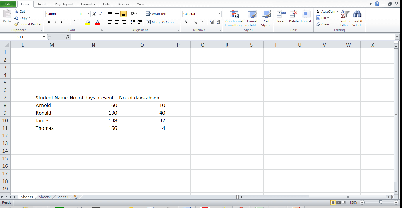 Graph and Chart in Excel 6 - Dynamic Web Training