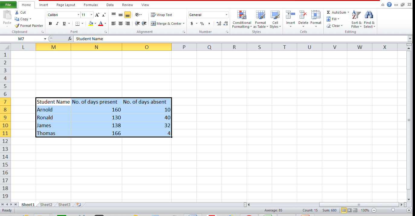 Graph and Chart in Excel 8 - Dynamic Web Training