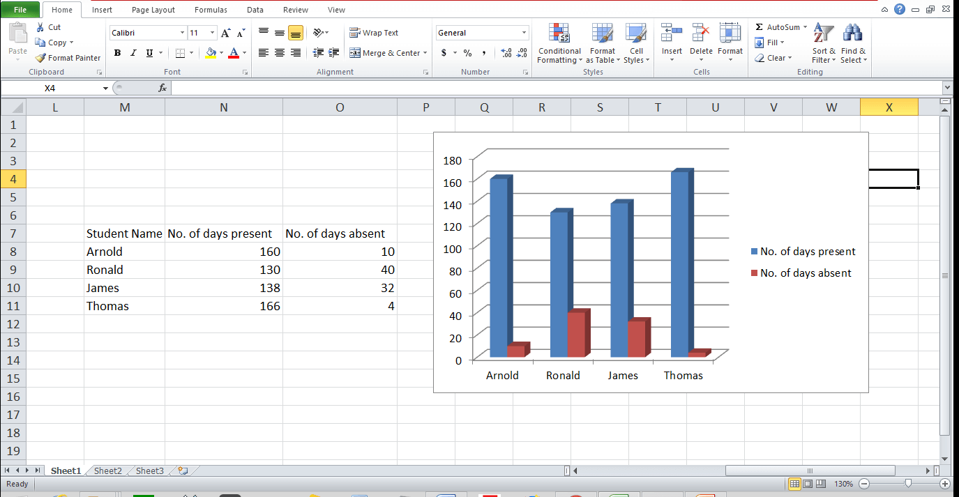 Graph and Chart in Excel 9 - Dynamic Web Training