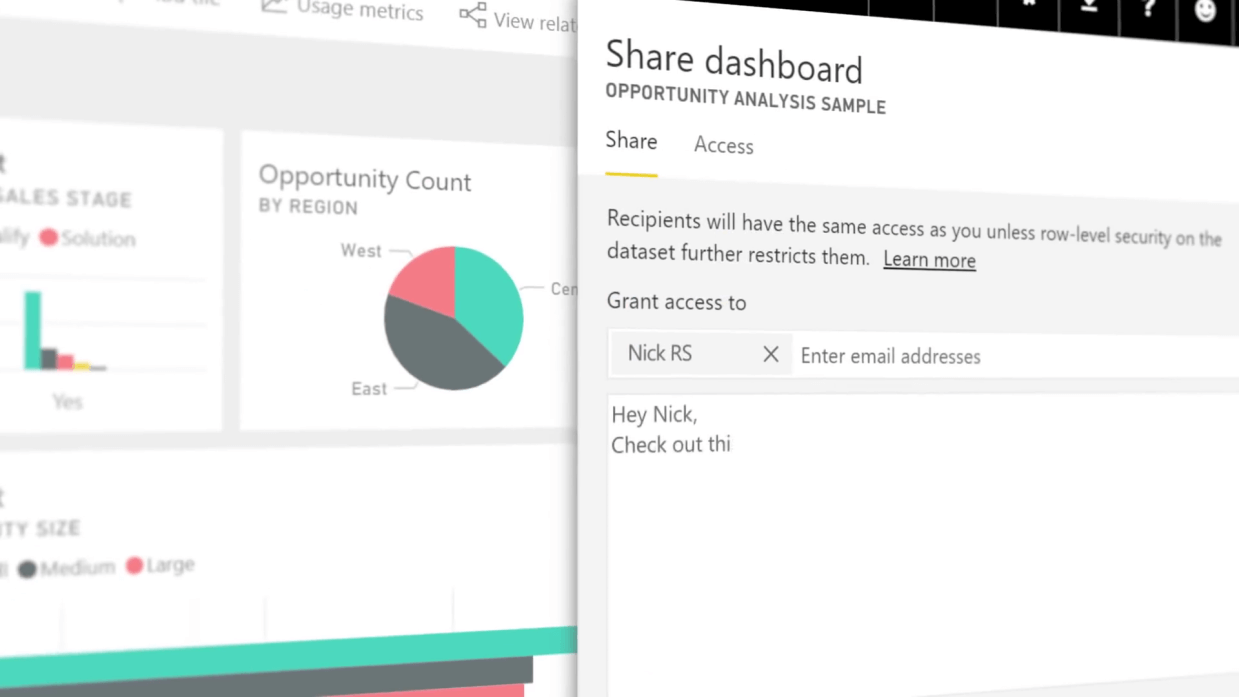 Power Bi - Sharing Ability - Dynamic Web Training