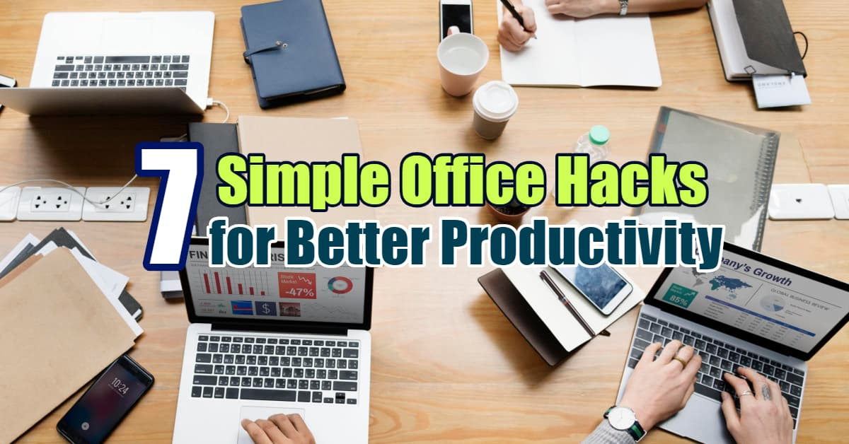 7 Simple Office Hacks - Dynamic Web Training