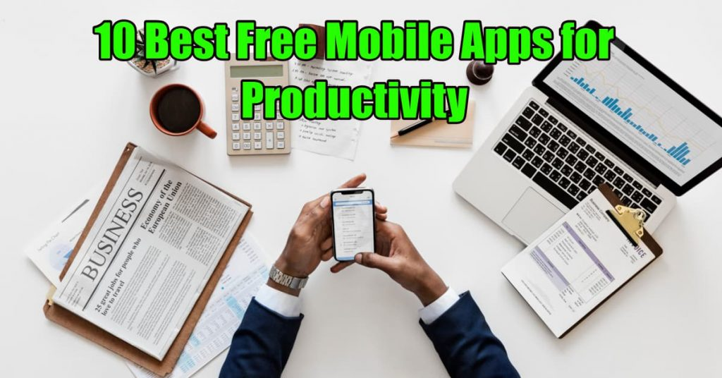 Featured Mobile Apps for Productivity - Dynamic Web Training