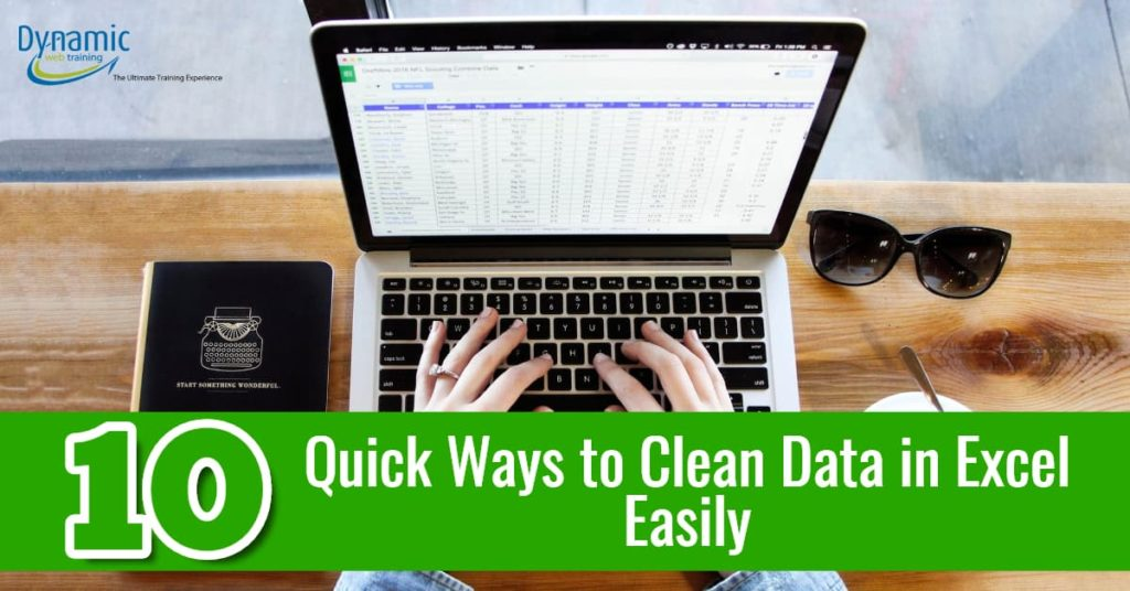10 Quick Ways to Clean Data in Excel - Dynamic Web Training